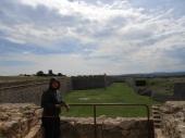 Desde las alturas del castillo los puestos de vigilancia